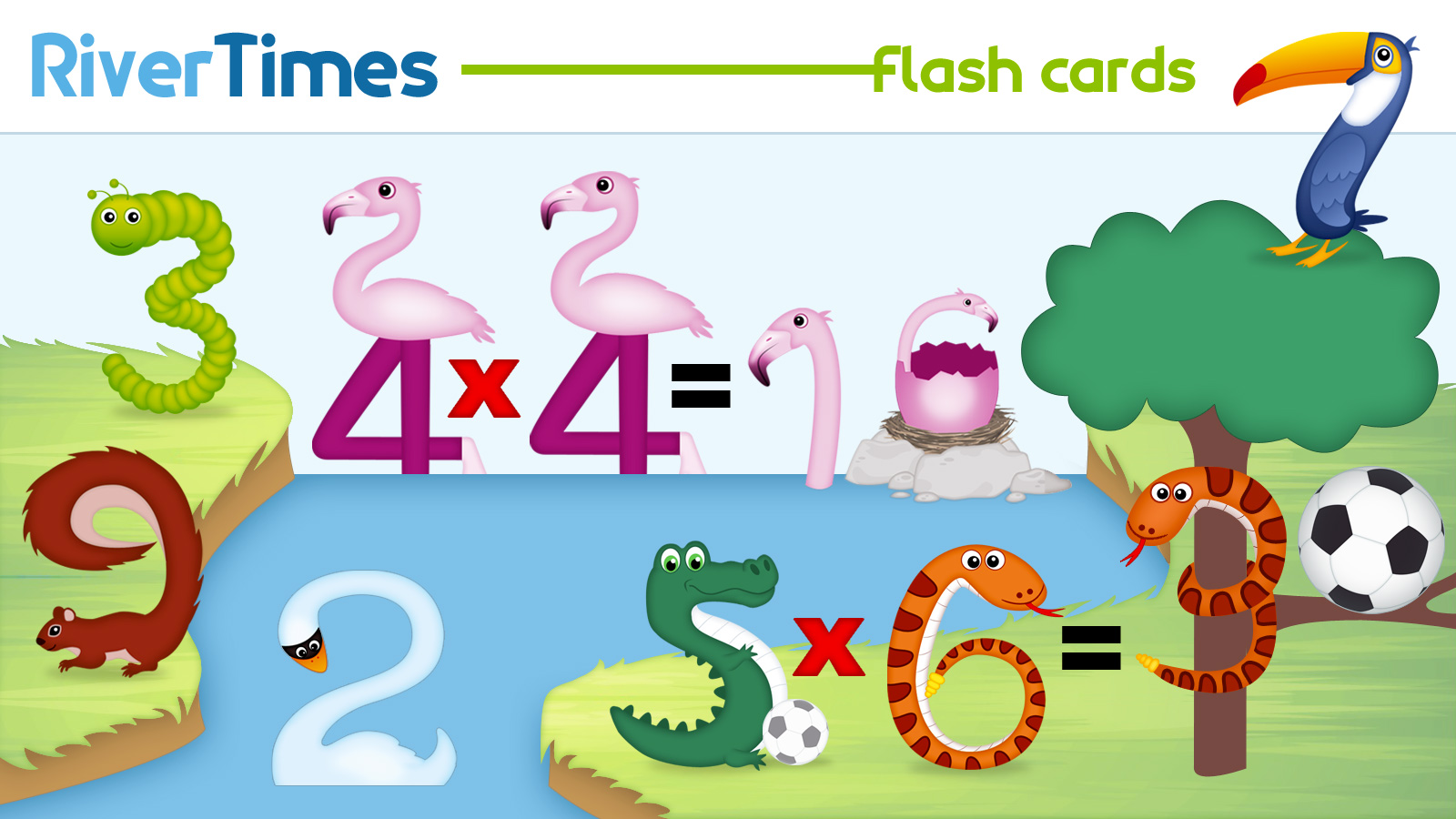 Multiplication Flashcards Print For Free Fun Way Rivertimes