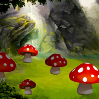Simon game - Mushrooms