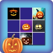 Memory game for kids - Halloween pumpkin
