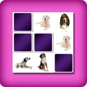 Big memory game - dogs