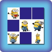 Memory game for kids - Bob, Stuart and Kevin - online and free