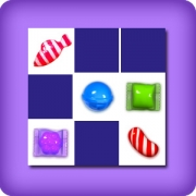 Memory game 2 player - candy crush