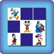 Memory game for kids - Walt Disney