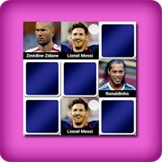 Big memory match game  - greatest soccer players of all time