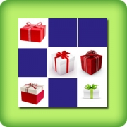 Memory game for adults - Christmas presents - online and free