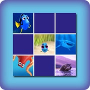 Memory game for kids - Finding Dory - online and free