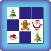 Memory for kids - Christmas - online and free