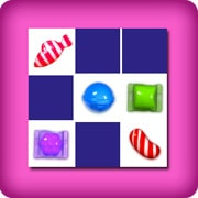 Grand jeu de memory - Candy Crush