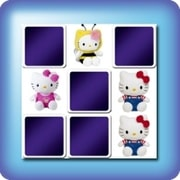 Memory game for kids - Hello Kitty