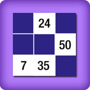 Memory game 2 player - numbers