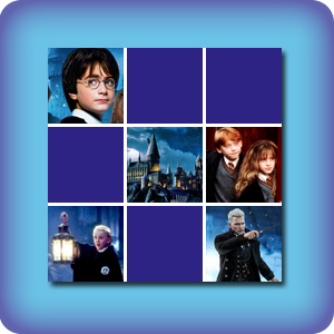 Memory game for kids - Harry Potter - online and free