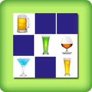 Drinks memory game