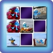 Memory game for kids - Smurfs - online and free
