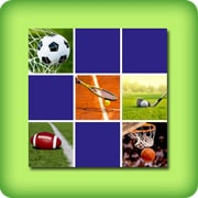 Memory game for adults - beautiful sport pictures - online and free