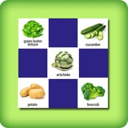 Fruits and vegetables Memory game