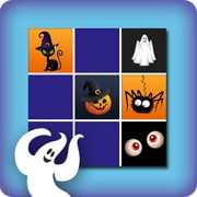 Memory game for kids - halloween II - online and free