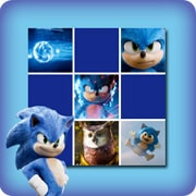 Memory game for kids - Sonic the hedgehog - online and free