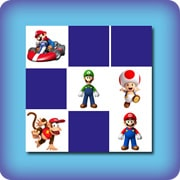Memory game for kids - Mario kart - online and free