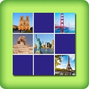 Memory game for adults - The most beautiful monuments