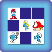 Memory game for kids - Smurfs II - online and free