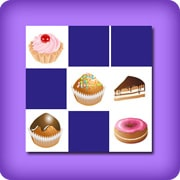 Memory game 2 player - cakes