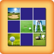 Memory game for seniors - golf - online and free