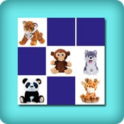 Memory game stuffed animals for baby