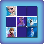 Memory game for kids - Frozen - online and free