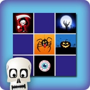 Memory game for kids - Halloween
