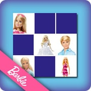 Memory game for kids - Barbie - online and free
