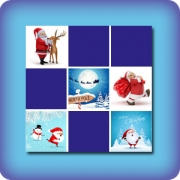 Memory game for kids - Santa Claus
