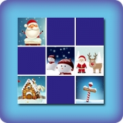 Memory game for kids - Christmas III - online and free