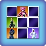 Memory game for kids - Fortnite - online and free