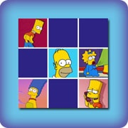 Memory game for kids - The Simpsons - online and free