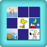 Memory game for toddlers - Snoopy