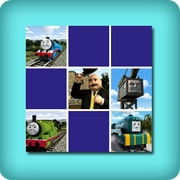 Memory game for toddlers - Thomas and friends - online and free