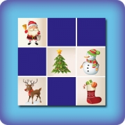 Memory game for kids - Christmas