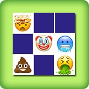 Matching game for adults - emoji III - online and free