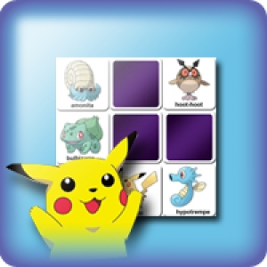 Memory game for kids - Pokemon cards - online and free