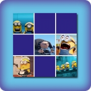 Memory game for kids - Minions Despicable me - online and free