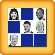 Memory game for elderly - Faces memory - online and free