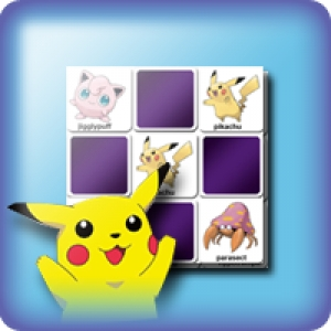 Memory game for kids - Pokemon game - online and free