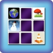 Memory game for kids - pretty images