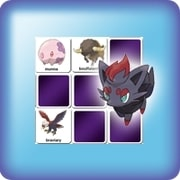 Memory game for kids - Pokemon cards 5th generation - online and free