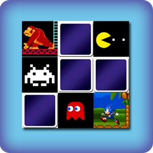 Memory game for kids - retro video games - online and free