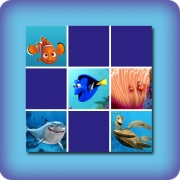 Memory game for kids - Finding Nemo - online and free