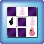 Memory game for kids - Barbapapa