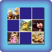 Memory game for kids - The minions - online and free