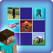 Memory game for kids - Minecraft - online and free