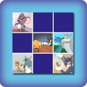 Memory game for kids - Tom and Jerry - online and free
